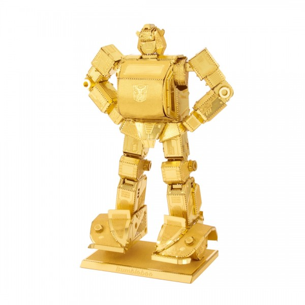 Metal Earth - Transformers Bumblebee Gold Edition