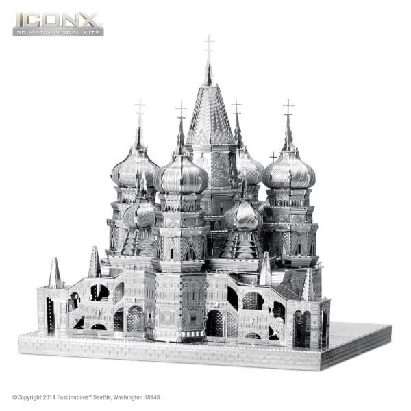 Metal Earth - ICONX St. Basil's Cathedral