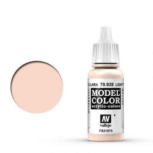 Vallejo - Modellfarbe Helle Hautfarbe (Light Flesh) 17 ml