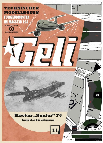 Geli - Hawker Hunter