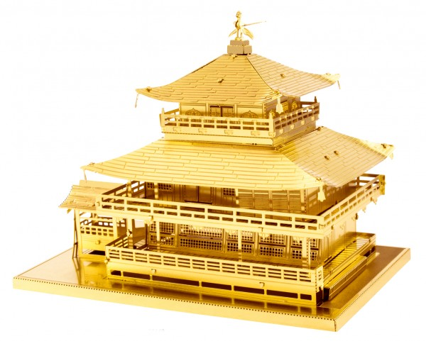 Metal Earth - Kinkaku-ji Rare Gold Edition