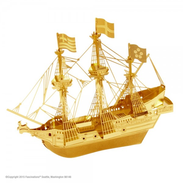 Metal Earth - Golden Hind Gold Edition