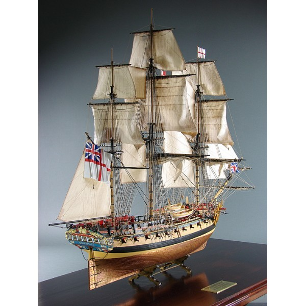 Shipyard - HMS Enterprize Maßstab 1:96