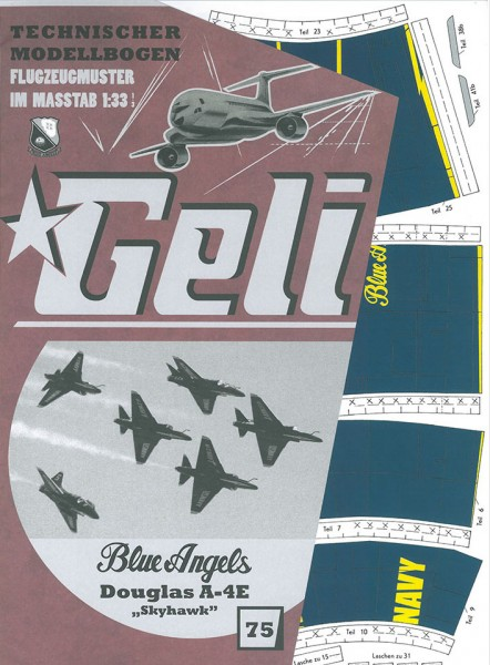 Geli - Douglas A4 Blue Angels