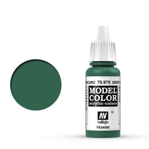 Vallejo - Modellfarbe Waldgrün (Deep Green) 17 ml