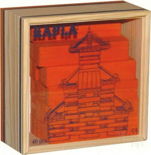 Kapla - 40er Quadrat orange